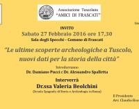 Archeologia e storia di Tuscolo: se ne parla a Frascati