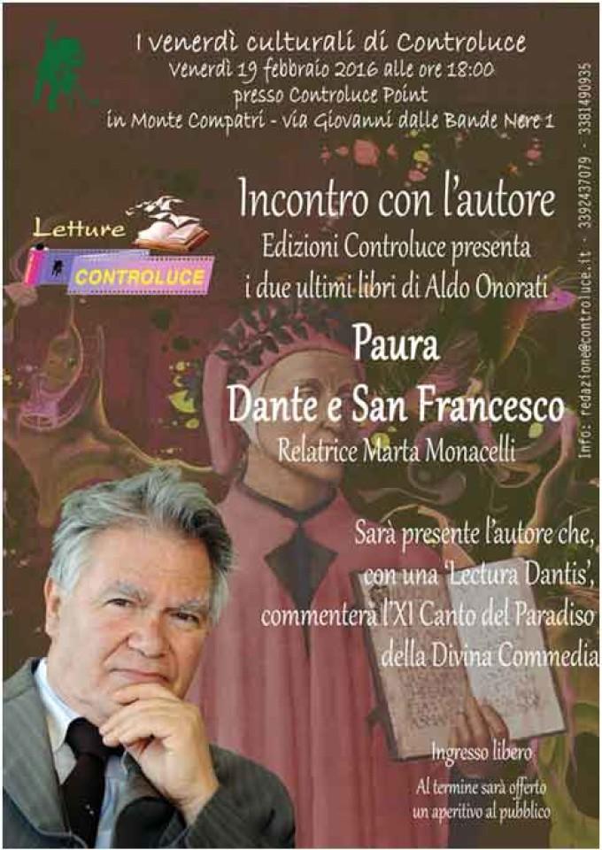 Monte Compatri – Dante e San Francesco di Aldo Onorati