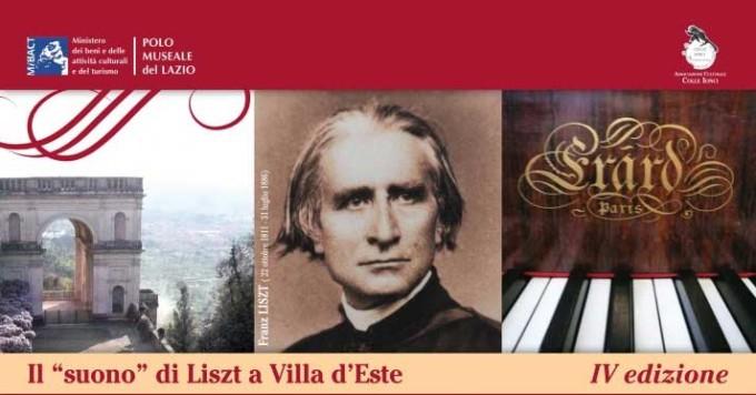 """IV edizione della rassegna """"Il suono di Liszt a Villa D'Este"""""""
