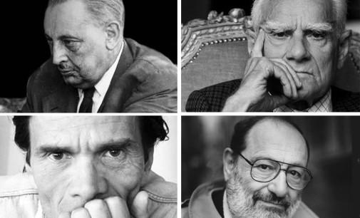 Tomasi di Lampedusa, Pasolini, Moravia, Umberto Eco