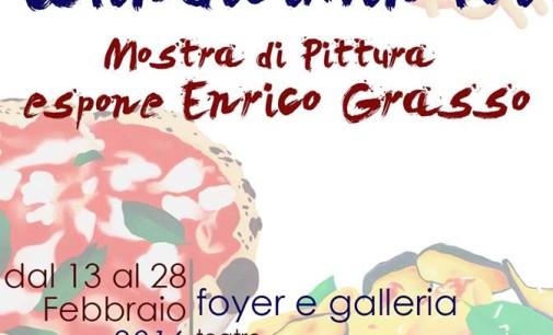 Arte di Enrico Grasso al Teatro civico di Rocca di Papa
