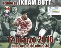 Lega Irfl (rugby XIII), sabato a Roma gli allenatori a lezione dal grande atleta Ikram Butt
