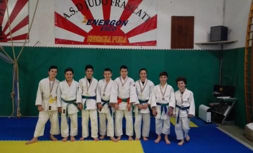 Asd Judo Energon Esco Frascati, quante soddisfazioni per Cadetti e Esordienti a Ponte Galeria