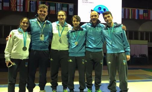 Frascati Scherma, che festa: sei medaglie ai campionati europei Cadetti e Giovani