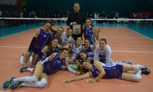 Al PalaGiòvolley la Serie B1 consolida il secondo posto.