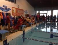 """3T Frascati Sporting Village (nuoto), festa totale per lo """"staffettone"""" di beneficenza"""