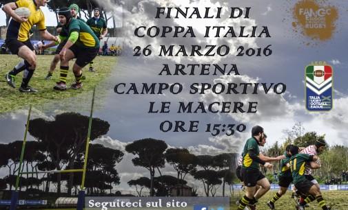 Lirfl (rugby a 13), sabato il grande spettacolo della finale di Coppa Italia ad Artena