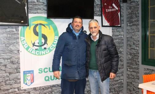 Racing Club calcio, l'orgoglio del ds Ridolfi: «Quante soddisfazioni dai nostri giovani»