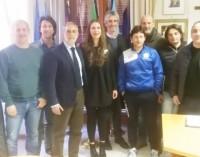Il sindaco incontra l'associazione calcistica Canarini Rocca di Papa