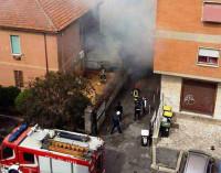 Ciampino – Incendio in appartamento in centro città