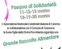 Colonna – Pasqua di solidarietà