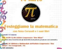 Festeggiamo la Matematica con Anna Cerasoli e i suoi libri