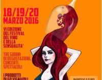 VI edizione del Festival del Vino e della Sensualita'