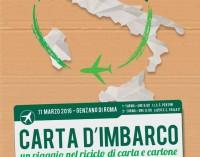 """""""Carta D'imbarco"""": il riciclo di carta e cartone in uno spettacolo teatrale a Genzano di Roma"""