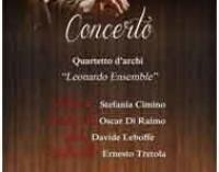 "Ardea –  Concerto-Quartetto d'archi ""Leonardo Ensemble"""