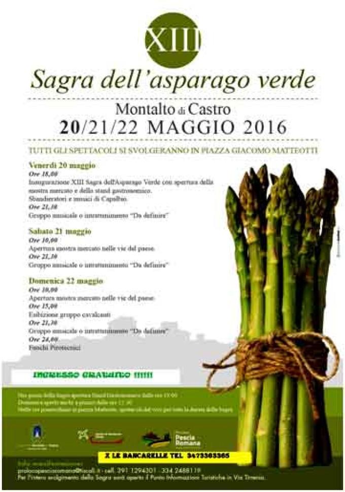 Montalto di Castro – Sagra dell'asparago verde