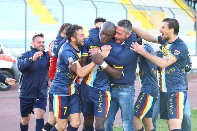 La Lupa Roma s'impone 3 a 2 sull'Arezzo