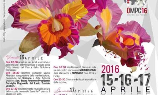 Monte Porzio Catone  – Parte la Mostra delle Orchidee