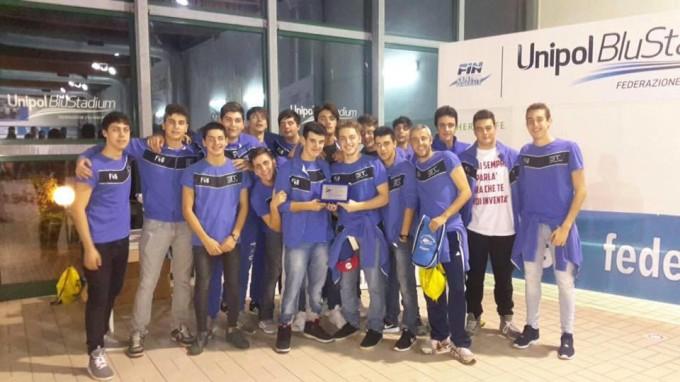 3T Frascati Sporting Village (pallanuoto Under 17), Piccioni: «Serve un punto per i play off»