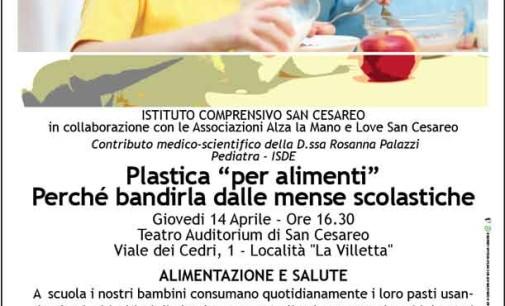 """San Cesareo – """"Bandiamo la plastica alimentare dalle mense scolastiche"""""""