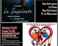 Al Teatro Civico di Rocca di Papa – La Supplente di Claudio Boccaccini