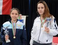 Ludovica Genovese podio nel fioretto femminile
