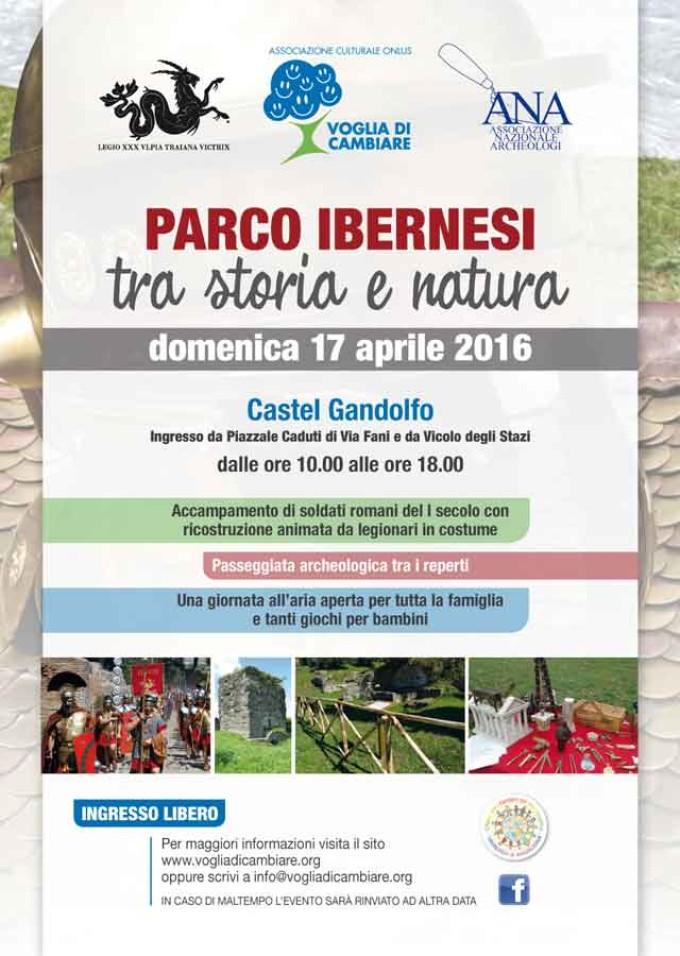 """Castel Gandolfo – Parco Ibernesi """"tra storia e natura"""""""