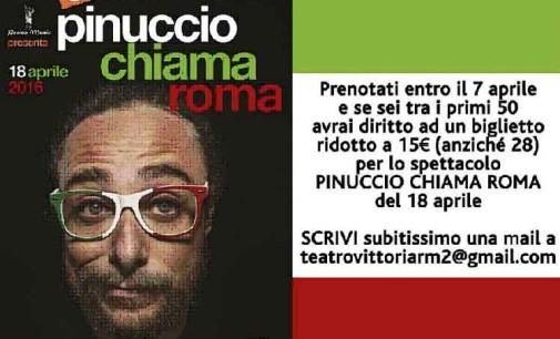 Pinuccio chiama Roma!