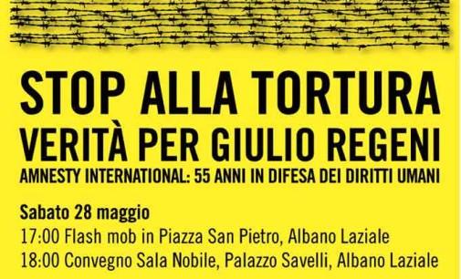 Amnesty International ad Albano per la verità sul caso Giulio Regeni