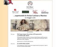 Feriae Latinae (Festa dei Popoli Latini)  21-29 maggio 2016 IV Edizione