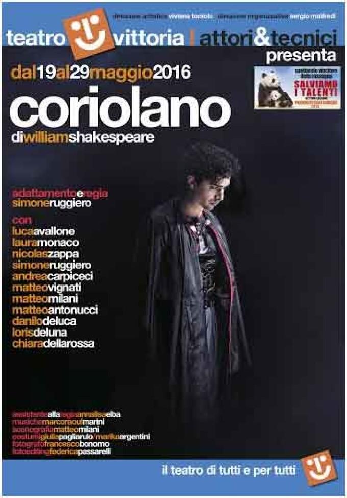 Teatro Vittoria – Coriolano