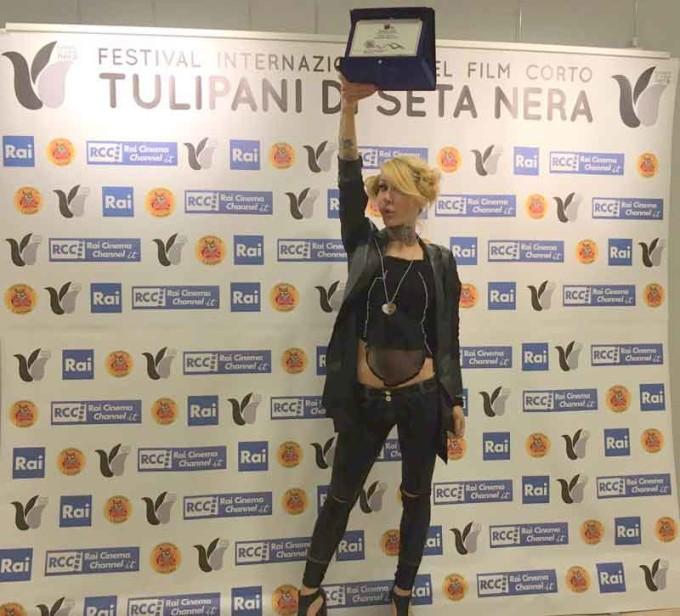 Linda d Vincitrice della 9° edizione di Tulipani di Seta Nera
