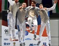Frascati Scherma, pioggia di medaglie agli Europei Under 23 e tris di allori ai campionati Gpg