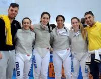 Frascati Scherma, la squadra di sciabola femminile è promossa in serie A1