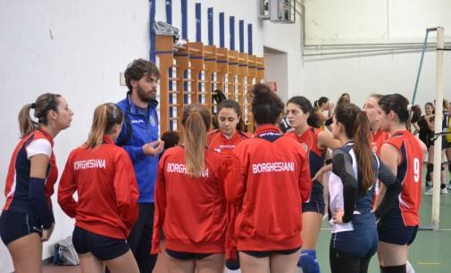 Polisportiva Borghesiana volley (I div. femm), Aquili: «Campionato a due volti, ma siamo salvi»