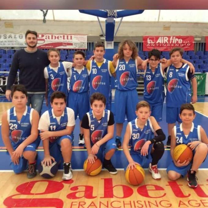 Ssd Colonna (basket), Miglio: «Finita la stagione ufficiale dell'Under 13, bilancio positivo»