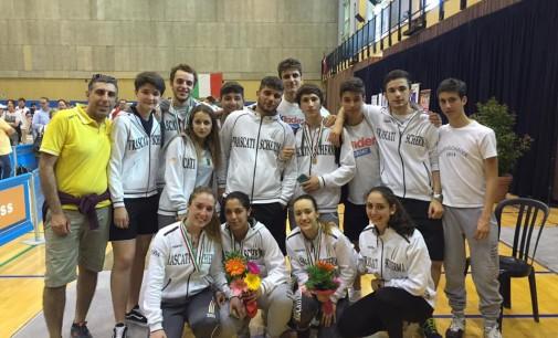 Frascati Scherma, un altro tricolore: la squadra di sciabola mista Giovani è campione d'Italia