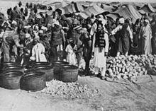 Internati nel campo di concentramento italiano di El Agheila
