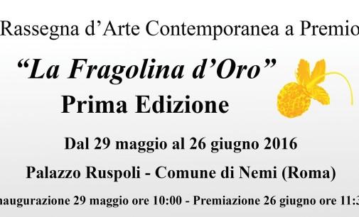 """Rassegna d'Arte Contemporanea – """"LA FRAGOLINA D'ORO"""""""