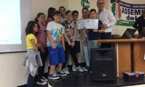 """Rocca Priora – Ist. Compr.Duilio Cambellotti, chiude dell'anno scolastico con l'evento """"Dieci e lode"""""""