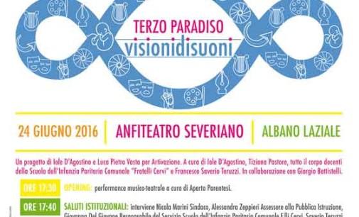 """Albano, venerdì 24 giugno all'Anfiteatro Severiano il """"Terzo Paradiso: Visionidisuoni"""""""
