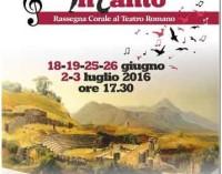 TUSCOLO InCANTO rassegna corale al teatro romano