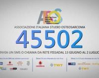 AISOS: contro l'osteosarcoma la raccolta SMS 45502