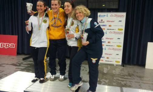 Gina Trombetta (Lazio scherma Ariccia) bronzo al compionato Italiano Master