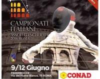 Frascati Scherma, è il momento: da giovedì a domenica lo spettacolo dei campionati italiani