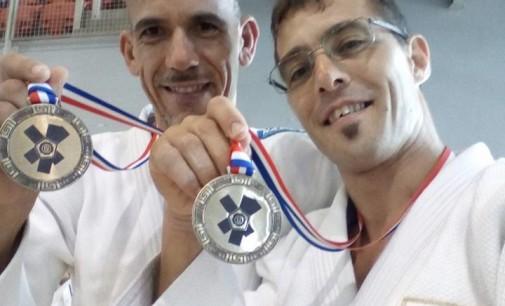 Asd Judo Energon Esco Frascati, Mascherucci bronzo a squadre agli Europei Master
