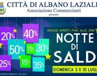"""""""Notte di Saldi"""" ad Albano Laziale"""