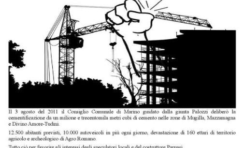 S.Maria Delle Mole, assemblea pubblica contro la cementificazione