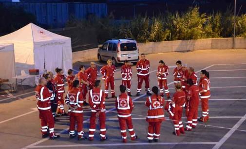Volontari di Croce Rossa in azione per i senza tetto dei Castelli Romani