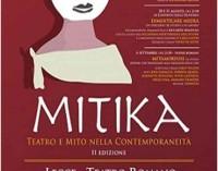 """In scena a Lecce """"Mitika"""", la rassegna del teatro classico"""